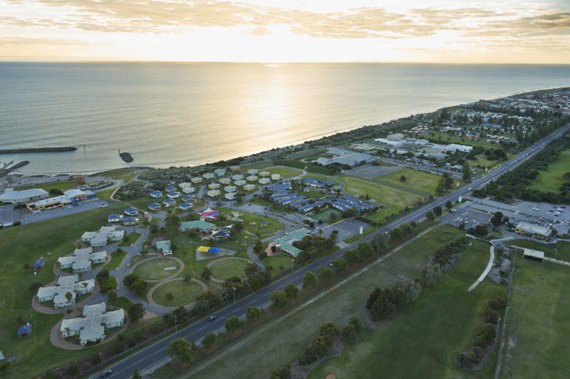 Adelaide Shores Resort Aerial