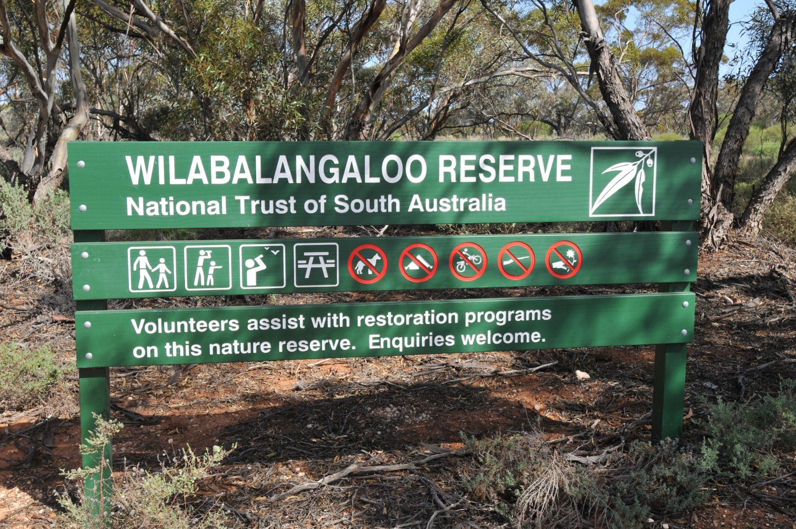 Reserve Sign