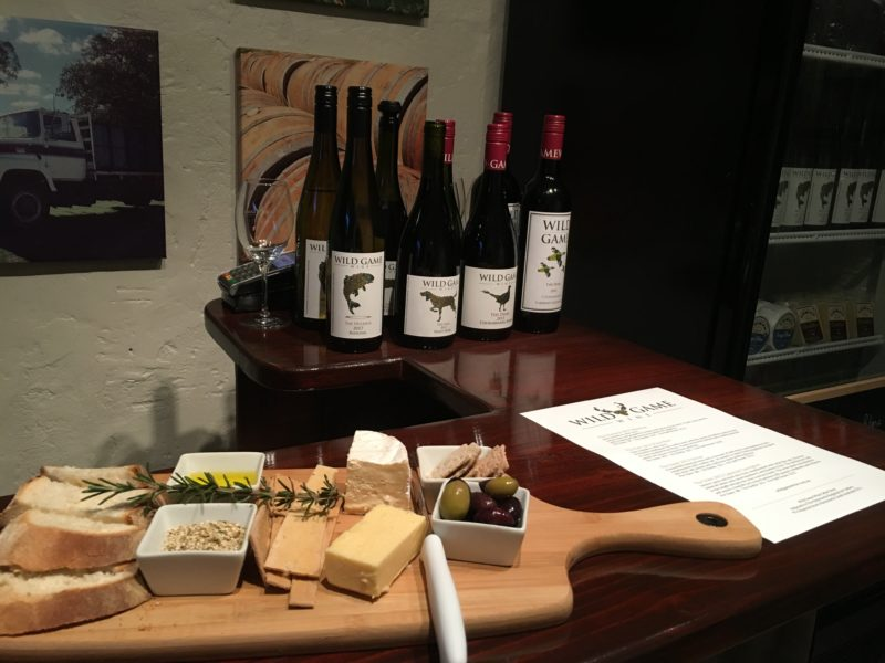 Choose from a range of exceptional wines to accompany a delicious South Australian produce platter