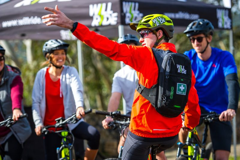 emtb ebike guided tour cleland conservation park