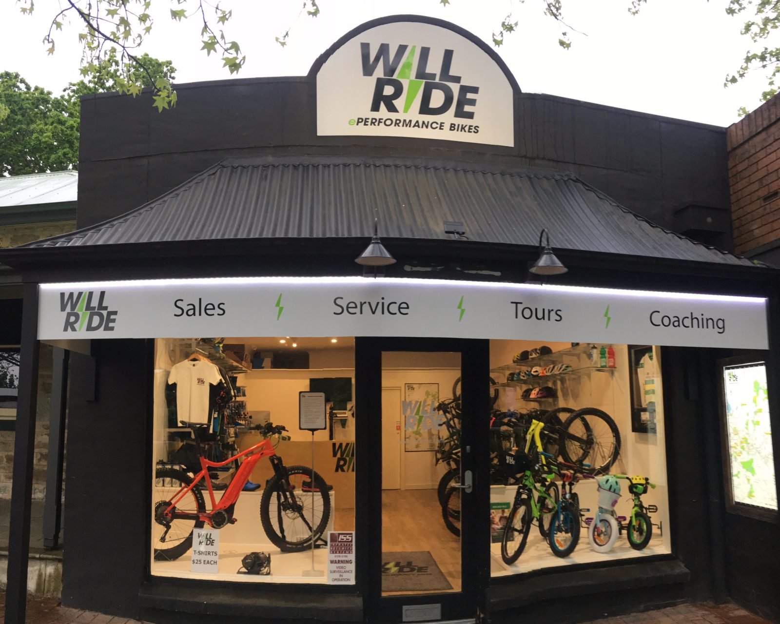 WILL RIDE SHOP FRONT