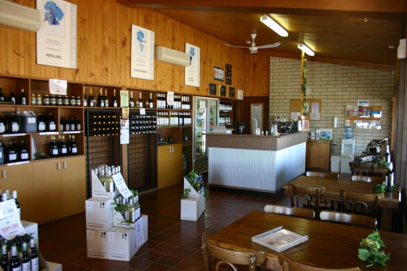 Willow Point Wines Interior