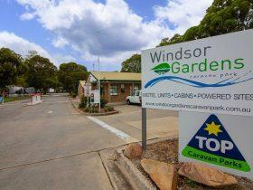 Welcome to Windsor Gardens Caravan Park