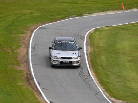 Subaru at Collingrove Hillclimb