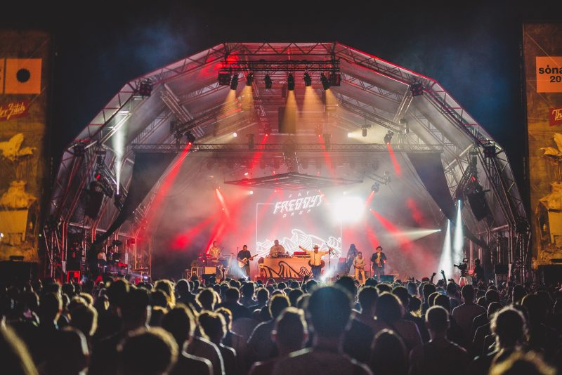 Fat Freddy's Drop performing at WOMADelaide 2019