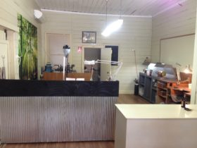 The view of the open layout of our shop
