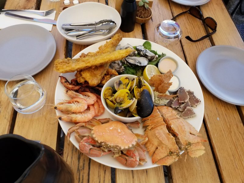 Seafood platter at 1802 Oyster Bay