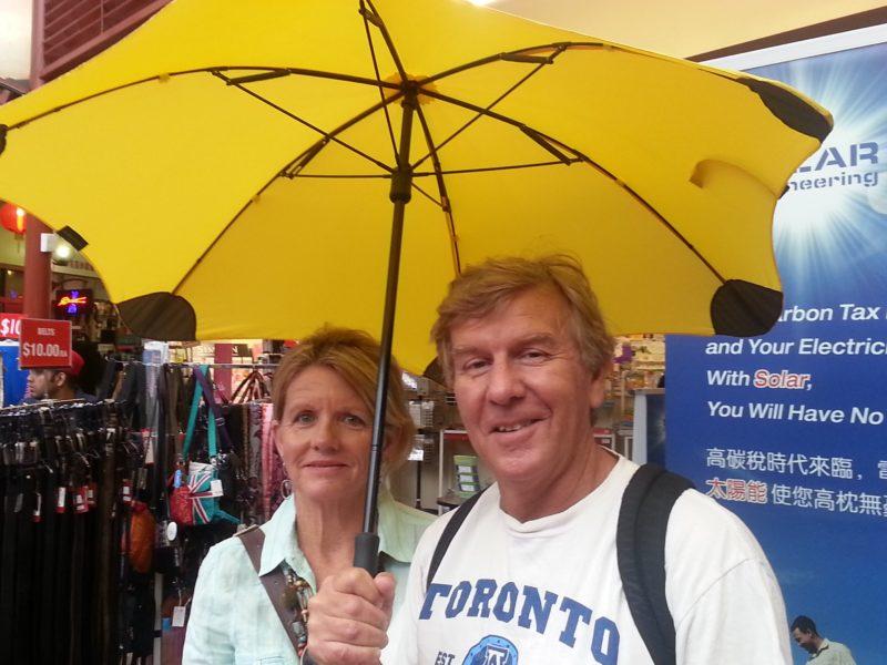 Yella Umbrella Walking Tours, Adelaide, South Australia