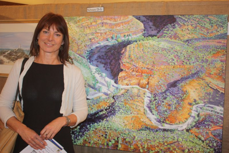Allyson Parsons 2014 Yorke Peninsula Art Exhibition Open Winner
