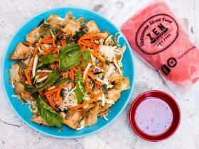 Vegetarian noodle salad