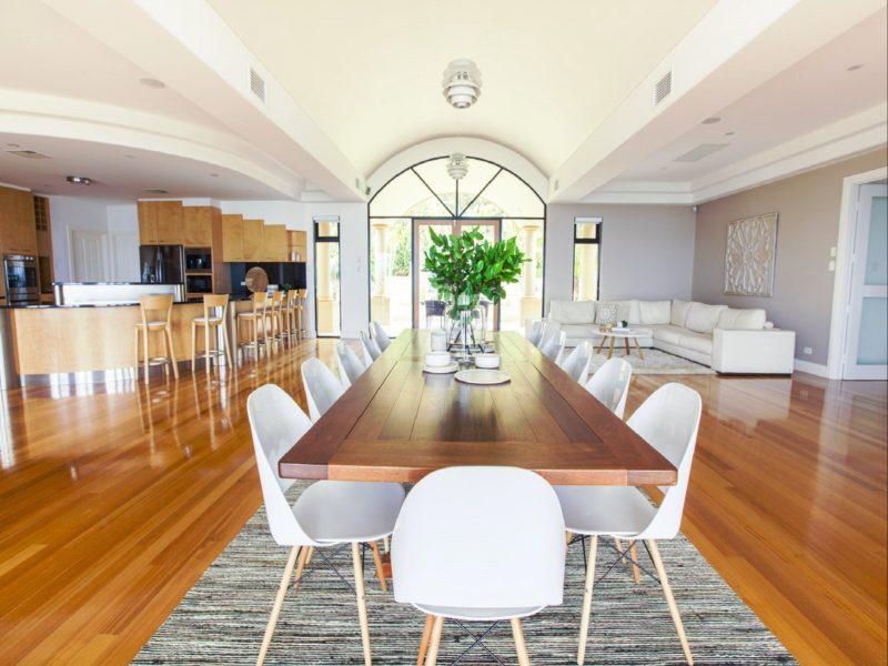 Kitchen, Dining & Sitting Room