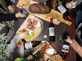 Zonte's Footstep wine and cheese platters