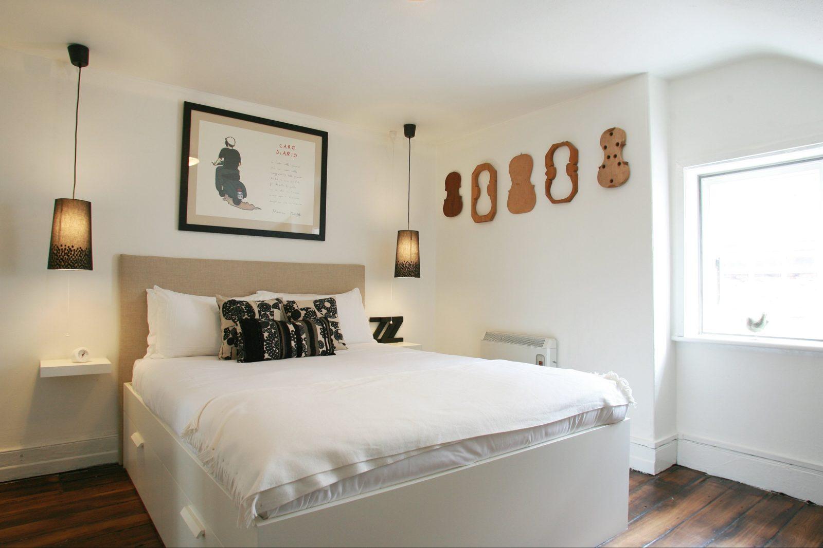 Attic Queen bedroom
