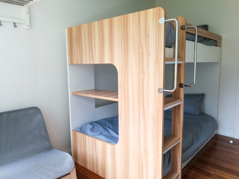 king bunk room