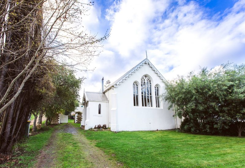 The original Methodist Church (circa 1860)