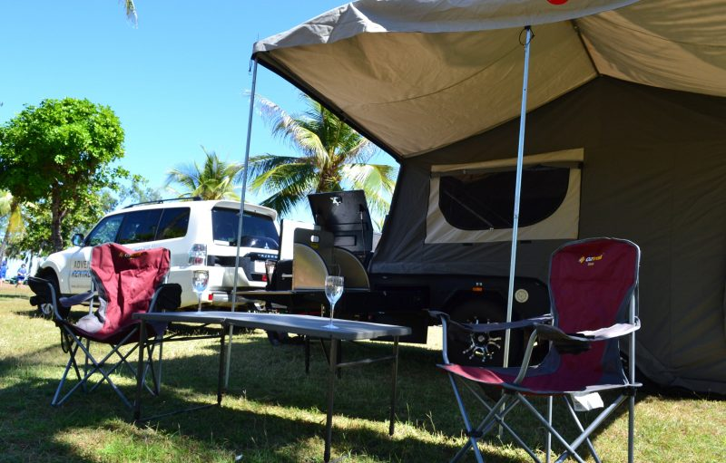 4WD and 4WD Camper Trailer comes with Camping equipment and Unlimited KM.