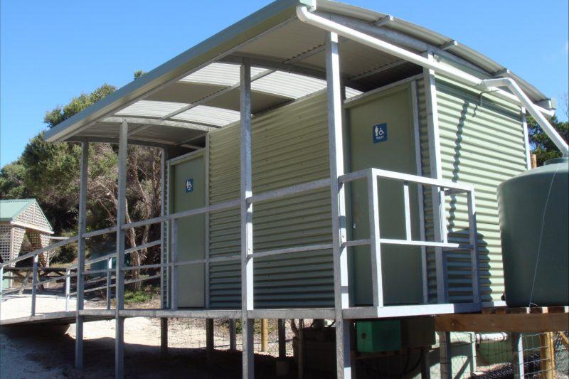 Allport Beach facilities Flinders Island TASMANIA
