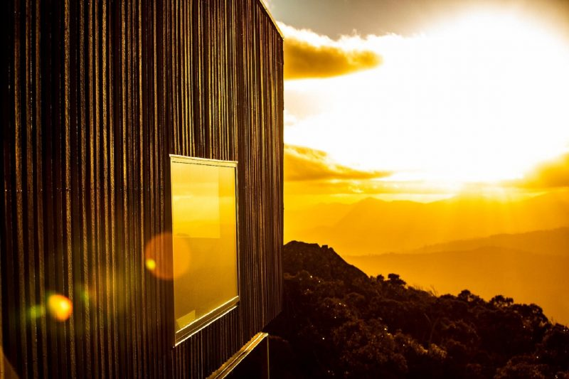 The summit is home to some of Tasmania's most beautiful, panoramic sunsets.