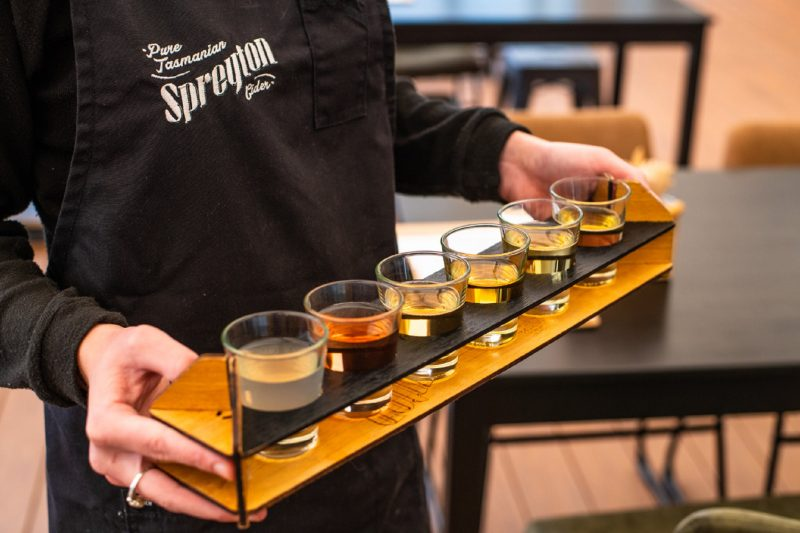 Join us for an afternoon sampling Tasmania's own Spreyton Cider