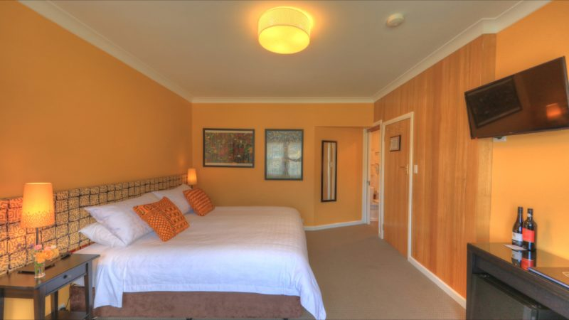 Africa Room with King bed which can be split into 2 Singles