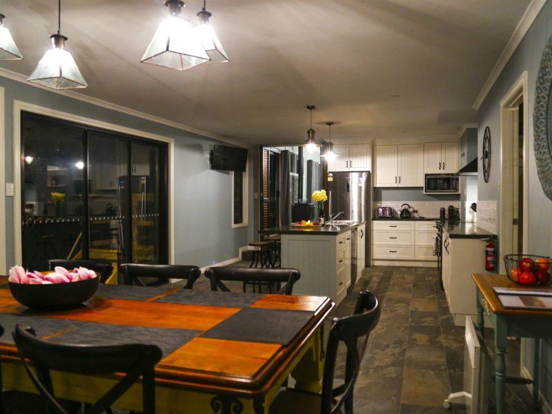 The beautiful new kitchen
