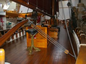 The deck of the Norfolk