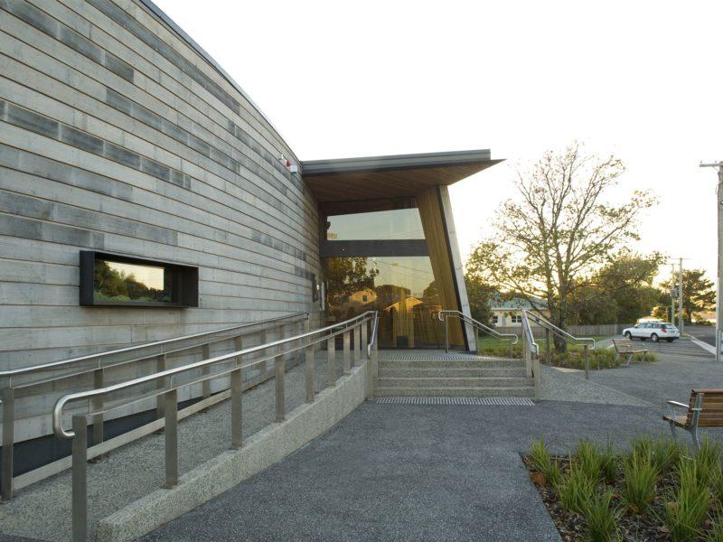 Entrance to Bass Strait Maritime Centre