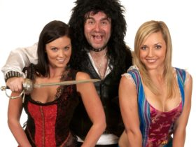 John X - a radio and theatre personality as the regular villain in Panto.