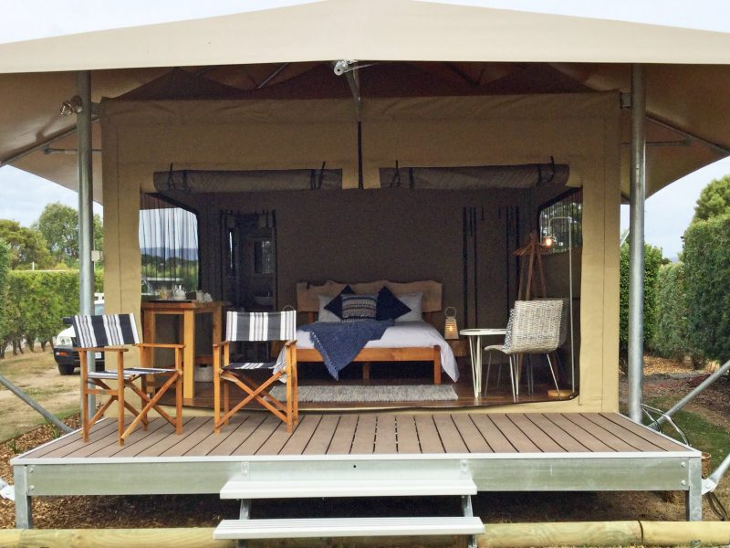 Glamping at Beauty Point Tourist Park