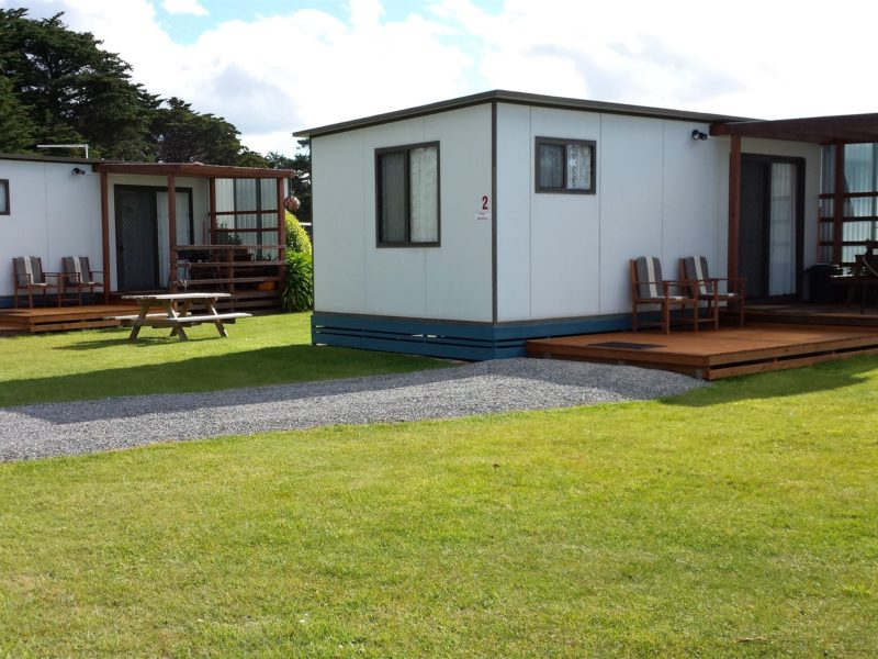 2 Bedroom cabins all with BBQ's