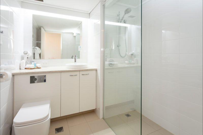 bathrooom, all rooms are ensuite