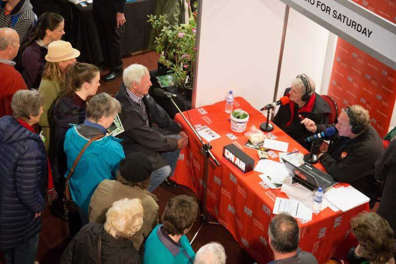 ABC Radio Broadcast from the Albert Hall on the Saturday morning.