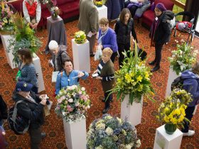Floral Displays from local Florists and Floral Enthusiasts