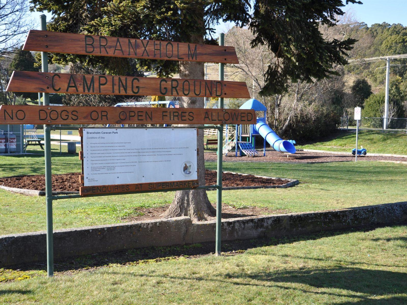 Branxholm Camping Ground Childrens Playground