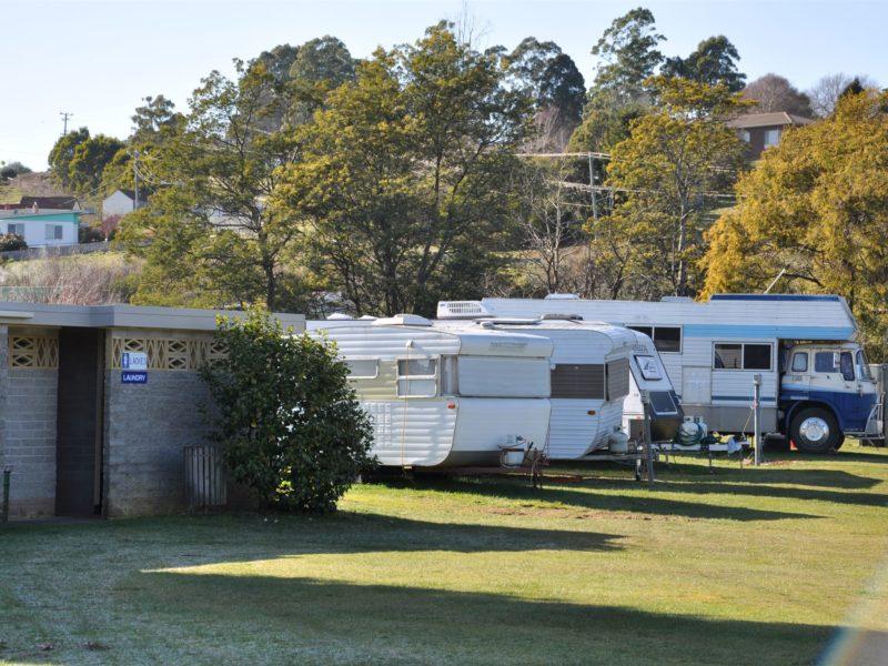 Camping at Branxholm
