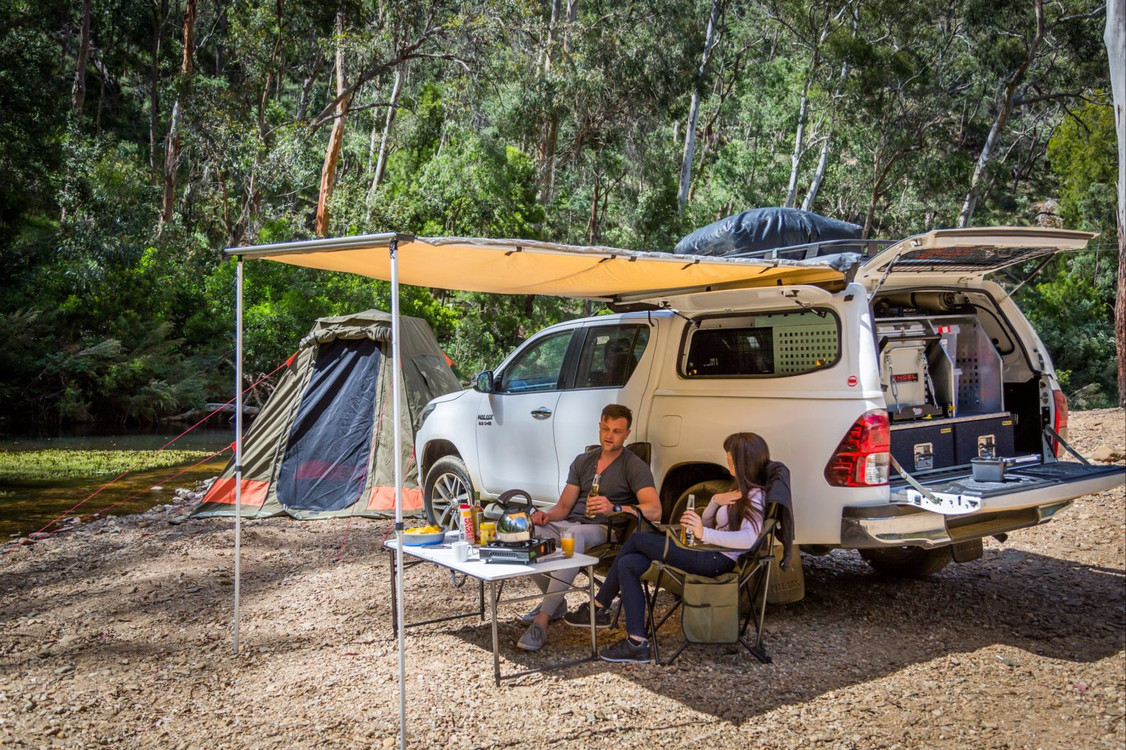 Britz 4Wd Outback with Tent - Sleeps up to 5