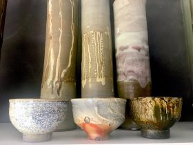 A diverse range of glazes and firing techniques. Wood fired, Soda fired and Gas fired.