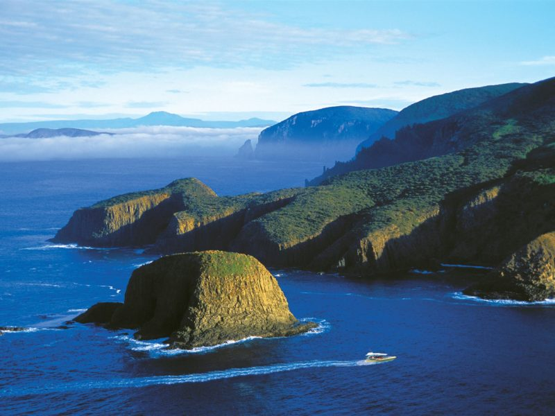 Bruny Island Cruises at The Friars, South Bruny National Park