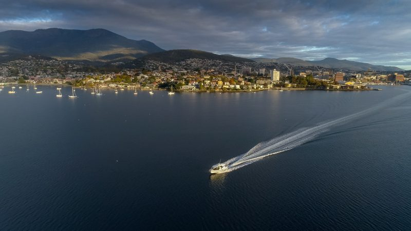 Private Boat to Bruny Island from Hobart