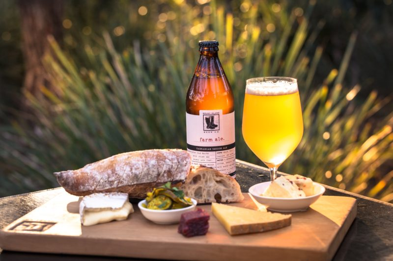 Bruny Island Cheese, Bruny Island Beers and Lunch at the Cheesery