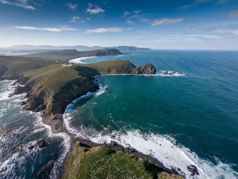 Cape Bruny and Bruny Island Lighthouse Station on Bruny Island
