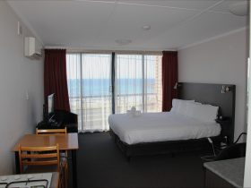 Sea View motel room