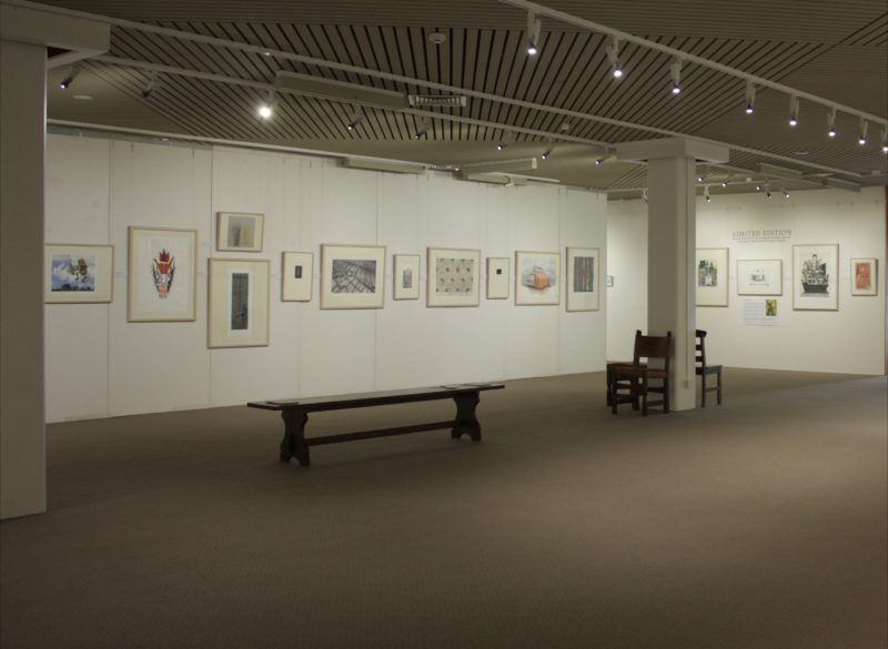 Works from the gallery's Permanent collection
