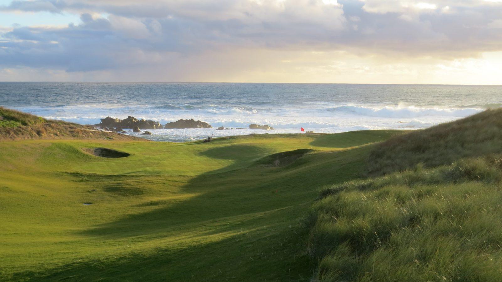A golfing green
