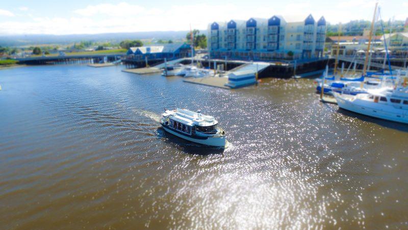 Cruising thru Seaport Riverfront precinct