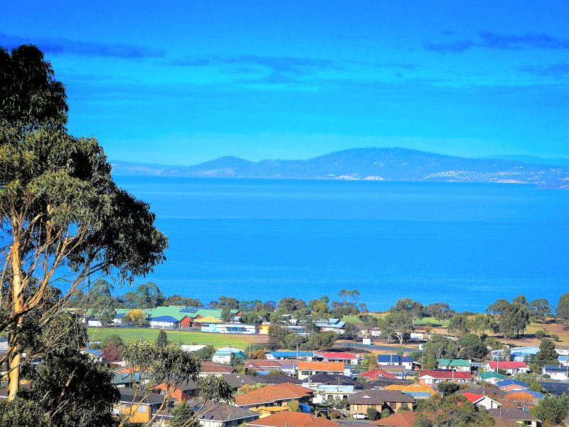 Enjoy these views of Hobart, Mt.Wellington and the Derwent River as seen from your private balcony.