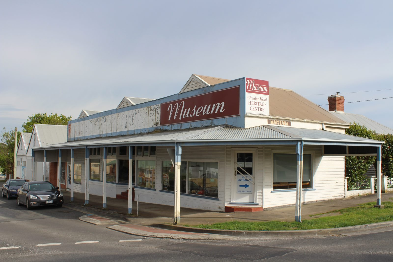 The Circular Head Heritage Centre is on the corner of King Street and Nelson Street, Smithton.