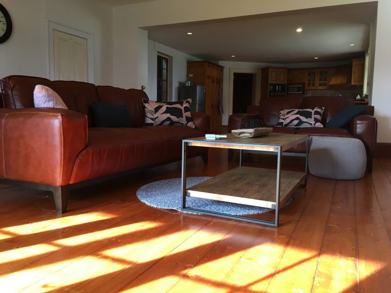 Relax and enjoy our sunny spacious country style living room.