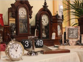 At Tasmanian Antiques Fair, Launceston, 2013