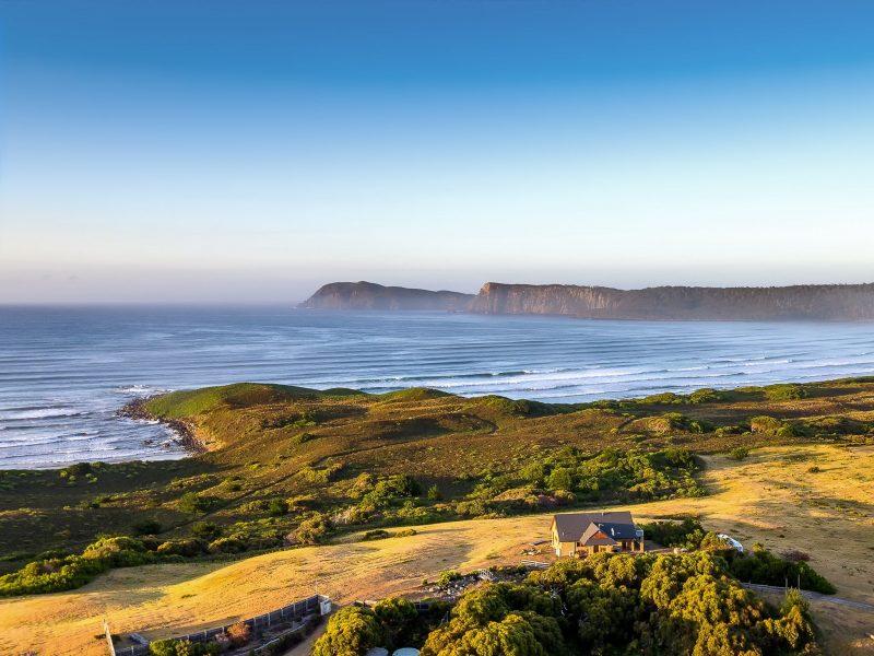 Cloudy Bay Villa - Aerial vista